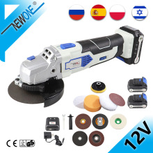 Grinding-Machine Battery Angle-Grinder Power-Tool Electric Cordless 100mm Newone 12v