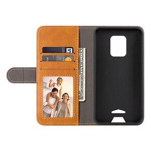 Image 2 - Flip כיסוי עבור Doogee S59 פרו עסקי מקרה עור יוקרה עם מגנט ארנק מקרה עבור Doogee S59 טלפון כיסוי