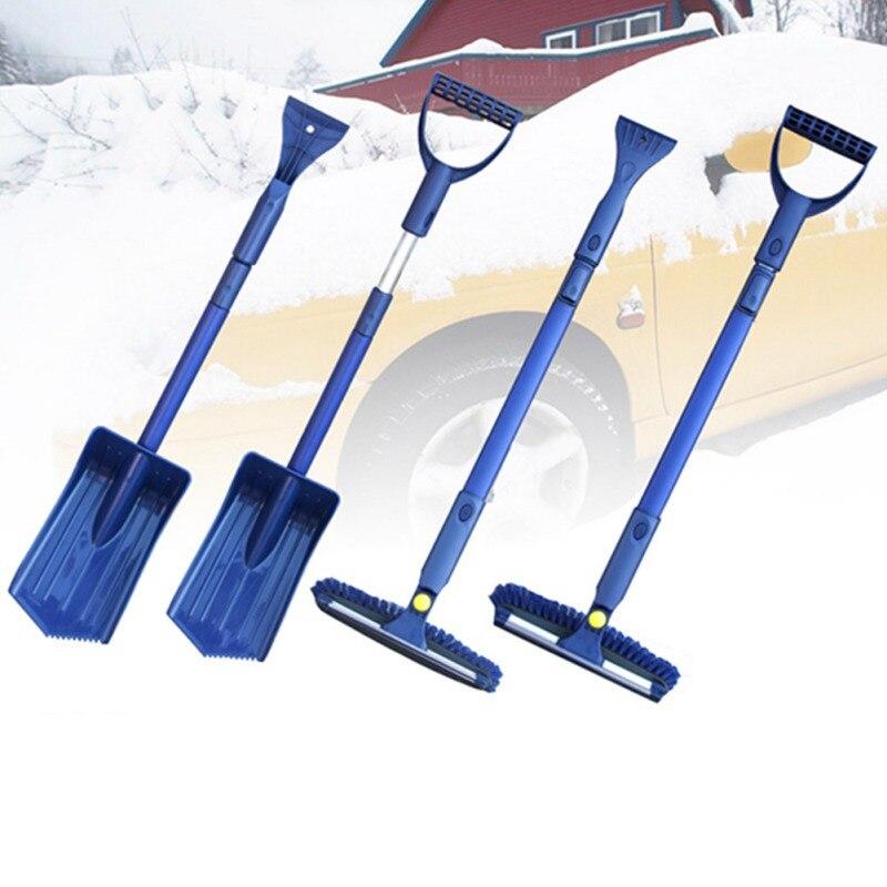 Voiture pare-brise neige clair ensemble voiture glace grattoir ensemble neige dégivreur pelle dégivrage nettoyage raclage outil