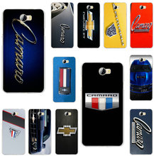 Chevrolet Camaro Car Logo Soft Phone Cases TPU for Huawei P7