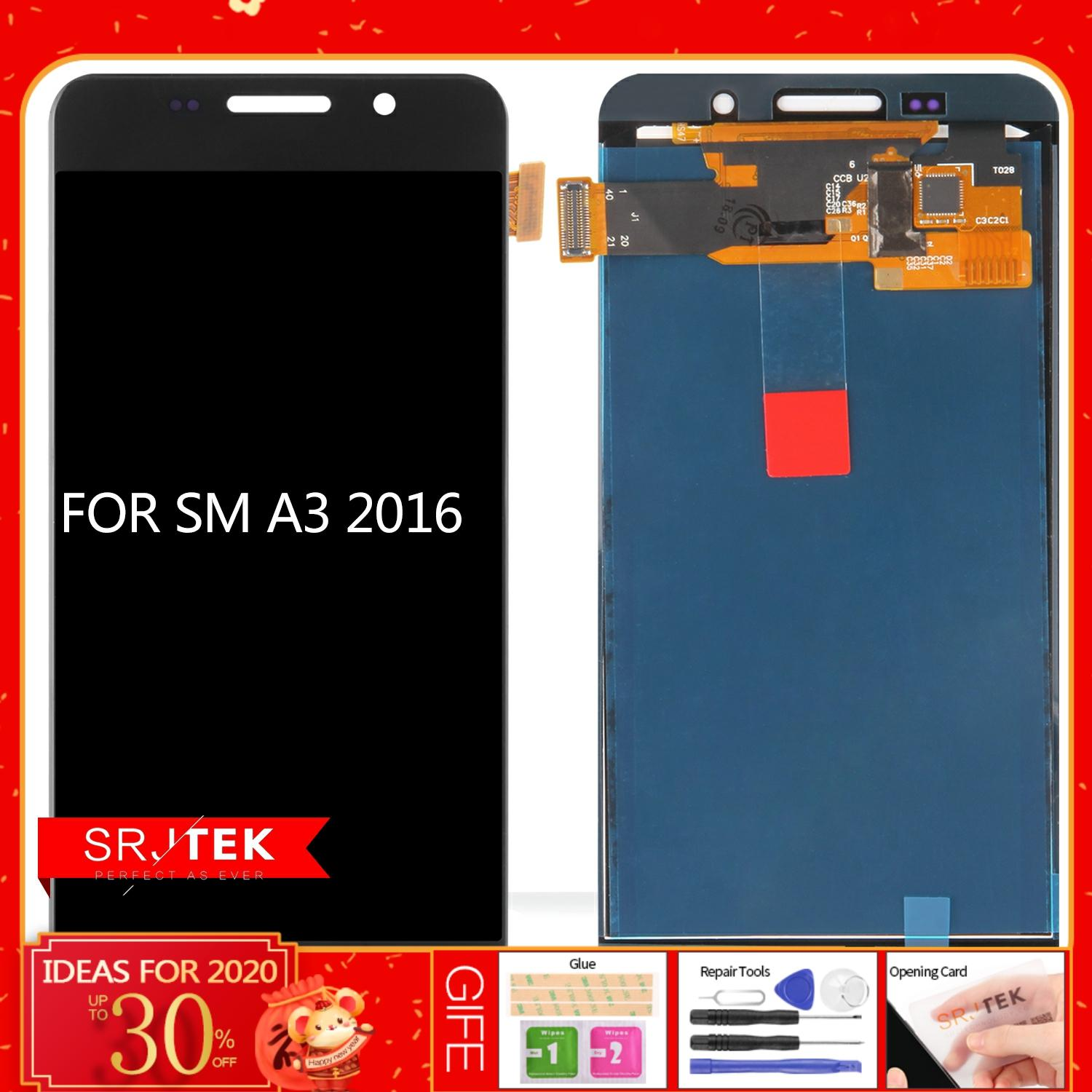 For <font><b>SAMSUNG</b></font> Galaxy A3 2016 A310 <font><b>A310F</b></font> LCD <font><b>Display</b></font> Touch <font><b>Screen</b></font> Digitizer Replacement Parts LCD For <font><b>Samsung</b></font> A3 2016 A310 <font><b>Display</b></font> image