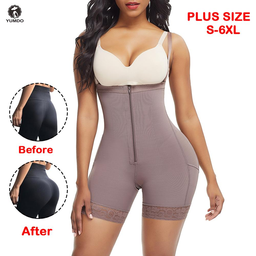 Ladies High Waist Slimming Shapers Tummy Bum Lift Control Briefs Knickers Pants