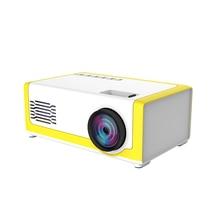 Yeni taşınabilir Full HD Mini projektör 1920*1080P destek AV USB SD kart USB 1800 lümen Mini ev projektör taşınabilir Beamer