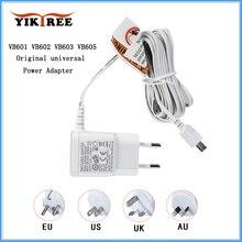 Niania elektroniczna Baby Monitor oryginalny VB601 / VB602 / VB603 / VB605 DC uniwersalny zasilacz 5V 1000mA 100-240V 50 / 60HZ ładowarka