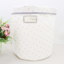 Nova algodão e linho dobrável balde de armazenamento roupa Suja cesto Roupa cesta brinquedos para cr