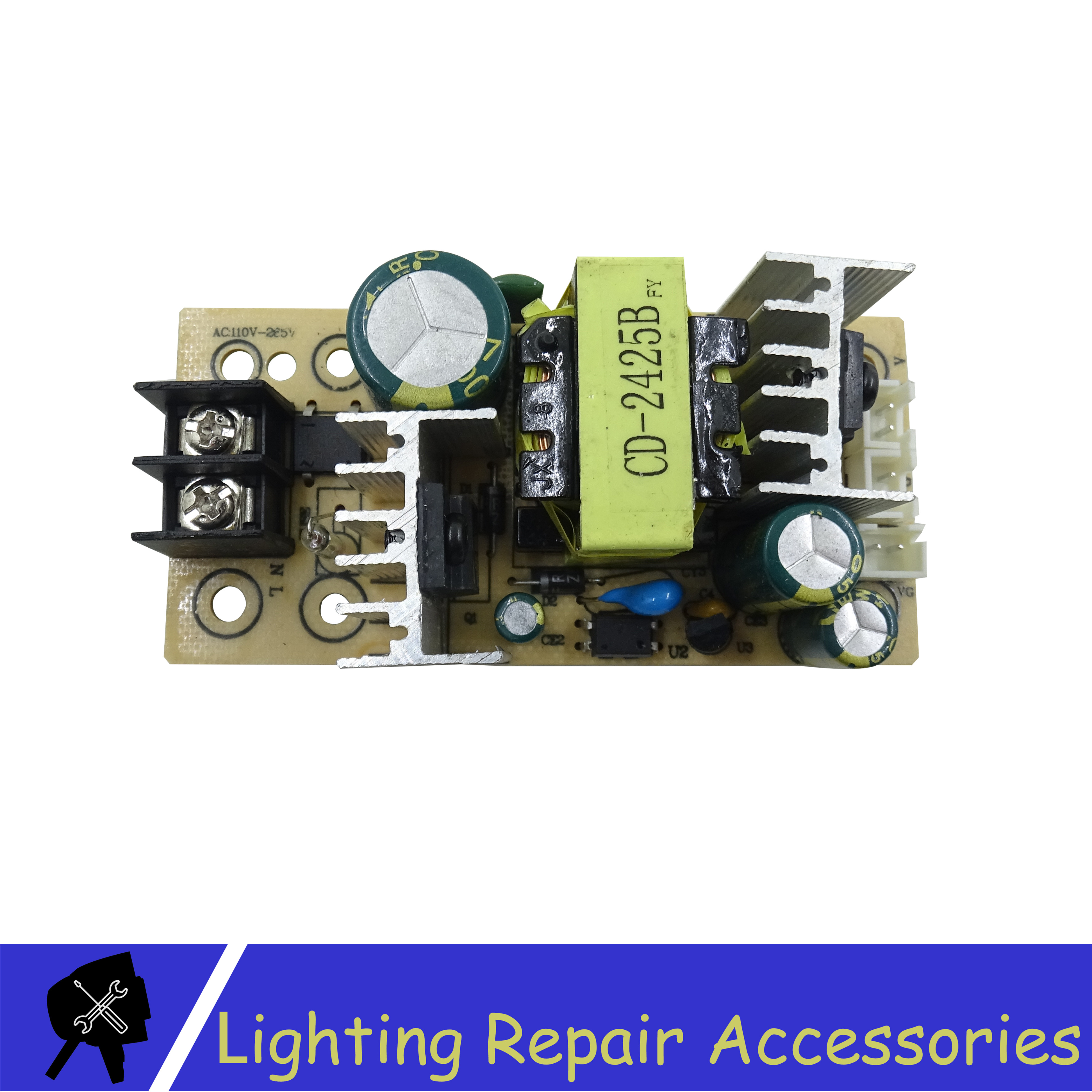 Power Supply 12v/24v Output 60-85w Power 110v/220v Inout For 18x3w 7x9w 7x10w 7x12w Led Par Lights Stage Light Repair Parts