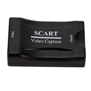 USB 2.0 SCART DVD Video Card Accessories Grabber 4K Box Plug And Play HDMI Gaming Live Streaming Home Office