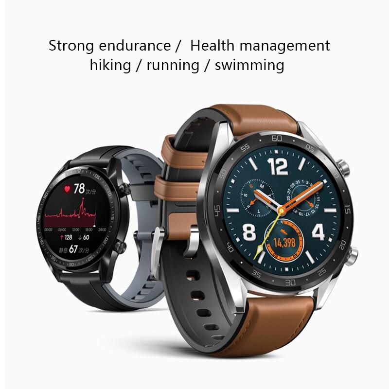 Global Version HUAWEI Smart Watch GT Waterproof Heart Rate Tracker Support NFC GPS Man Sport Tracker SmartWatch - 2
