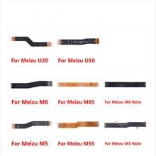 For Meizu U20 U10 M6S M6 M5S M5 Note Main Motherboard Connector LCD Display Flex Cable чехол для meizu u20 skinbox 4people shield красный