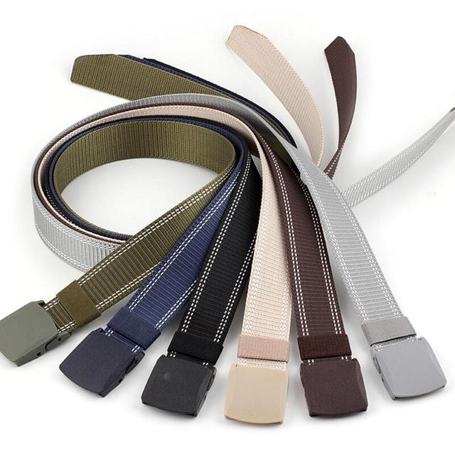 Plastic Buckle Nylon Casual Tactical Belt 3