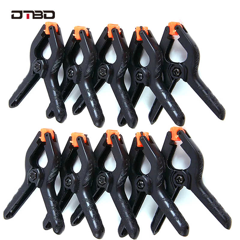 10Pcs Portable Plastic Nylon Toggle Clamps DIY Hand Tools For Woodworking Spring