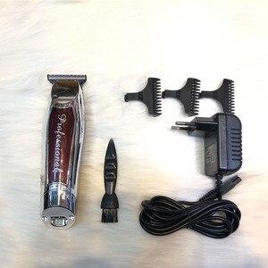 Image 2 - חשמלי ספר גוזז שיער אדם מקצועי גוזם שיער מתכוונן שיער לחתוך אלחוטי סלון דהייה מיזוג