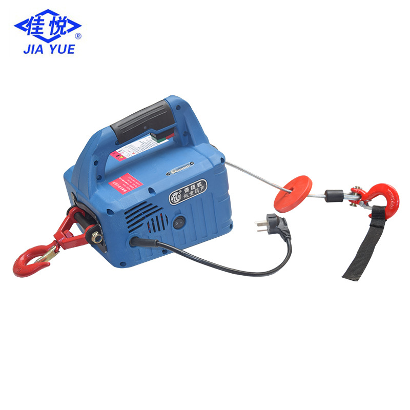 Wholesale Traction Gourd Portable Foxy Crane 220v Household Micro Electric Remote Control Hoist Air Conditioner Crane