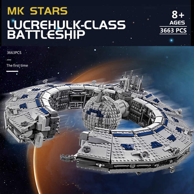 MOULD KING 21008 The Class Battleship (Droid Control Ship) MOC-13056 Building Blocks