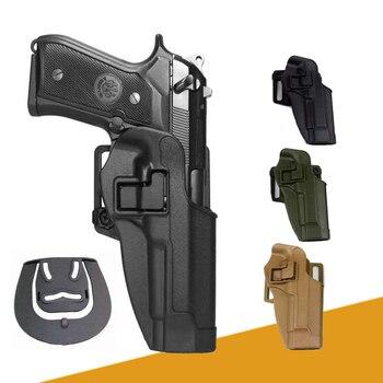 Tactical Beretta M9 92 96 Gun Holster With Gun Accessories Hunting Airsoft Gun Belt Holster Gun Case Pistol Waist Holsters 1