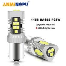 Anmingpu 1x сигнальная лампа 1156 canbus led ba15s p21w bau15s