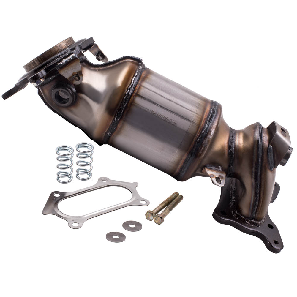 Exhaust Manifold Catalytic Converter Direct Fit for Honda Accord Acura TSX 2.4L
