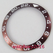 38mm Alloy Watch Bezel Insert For 40mm Mens Watch Face Inner