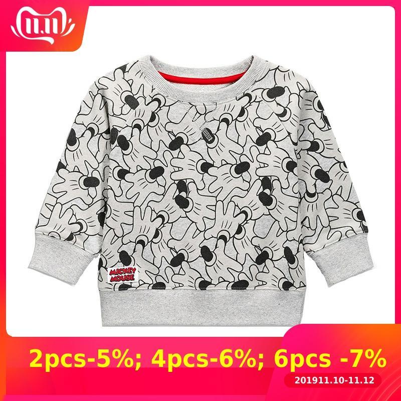 2019 crianças camiseta meninos t camisa meninas camiseta outono outono outono topos koszulka roupa menina roupas do miúdo mickey enfant