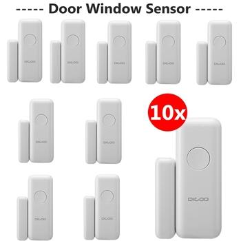 Digoo DG-HOSA 433MHz bezprzewodowy inteligentny okno i drzwi czujnik alarmowy GSM i WIFI DIY akcesoria inteligentny System alarmowy do domu zestawy tanie i dobre opinie NONE CN (pochodzenie) GSM WIFI DIY Accessories