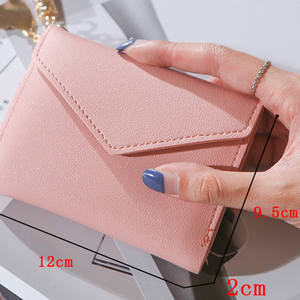 Women Wallet Purses Short Credit-Cards Small Carteira-Feminina Luxury Brand Fashion Tassel