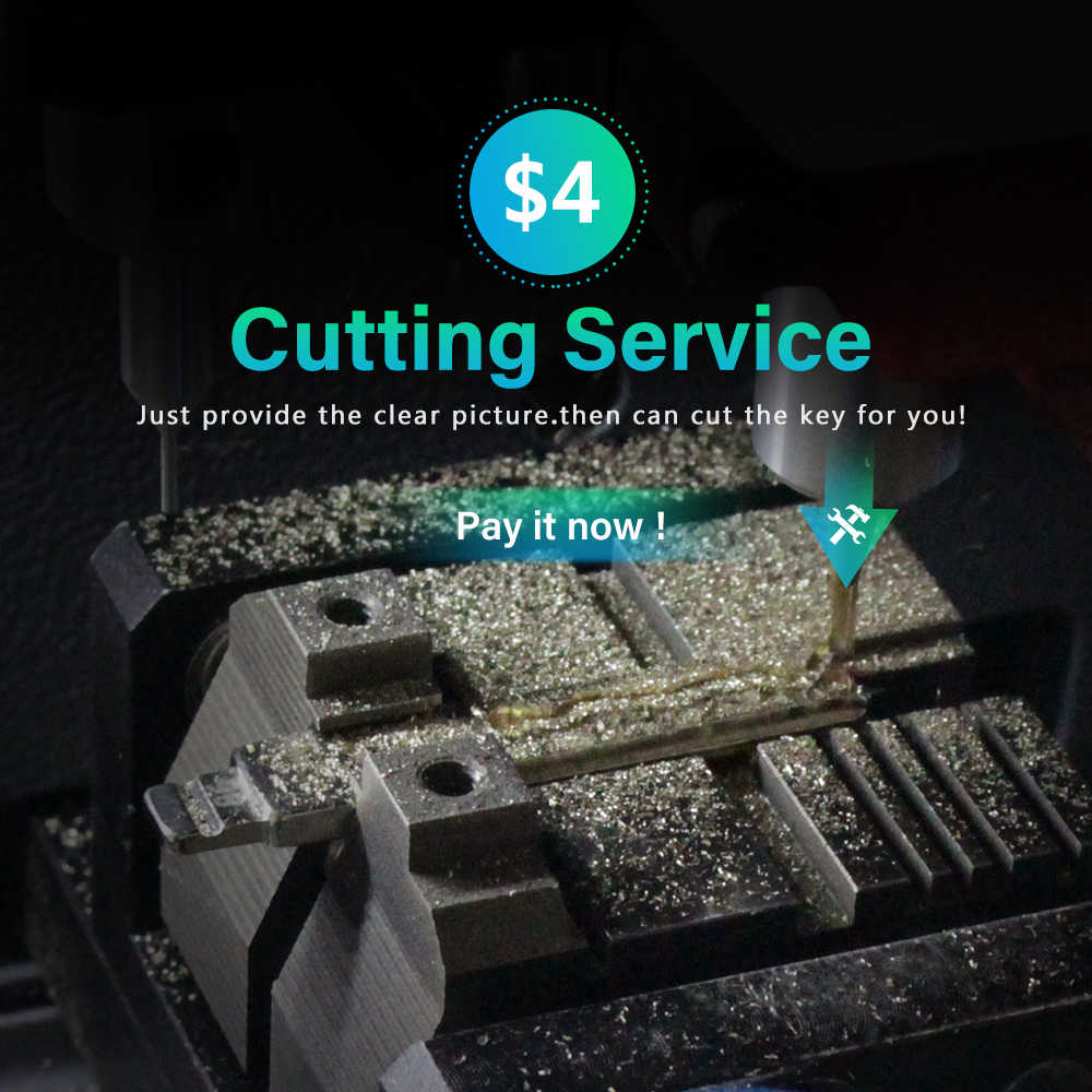 KEYYOU tarifa adicional por corte CNC servicio de hoja de llave por favor, póngase en contacto con nosotros. Antes de comprar gracias