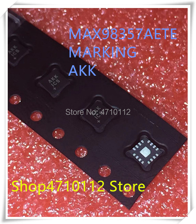 NEW 5PCS/LOT MAX98357AETE MAX98357A MAX98357 MARKING AKK QFN-16 IC