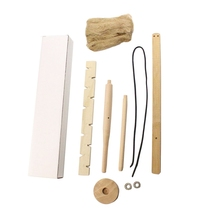 Outdoor Drilling Fire Tool Upgrade Kit Primitive Wood Survival Practice Fire Starter Camping Adventure Friction Fire Equipment