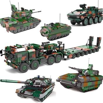 New Xingbao Military Bricks MAH HX-8 Elefant Tractor Truck Tracked Armored Vehicle Tank Building Blocks Bricks Educational Toys usb flash drive 64gb smartbuy v cut silver sb64gbvc s3