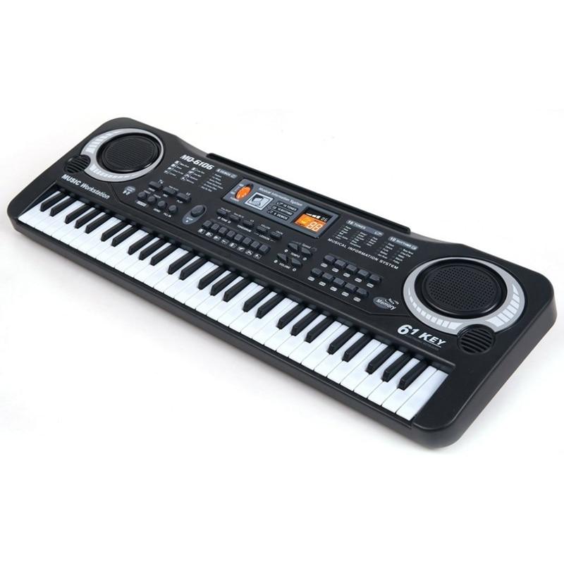 61 teclas de música digital teclado eletrônico