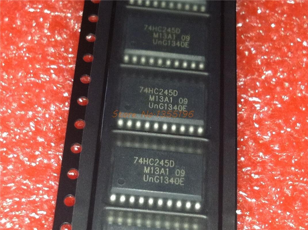 10pcs/lot 74HC245D SOP-20 74HC245 SOP SN74HC245DWR SMD In Stock