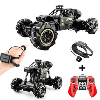 1:16 RC Cars 4WD Watch Control Gesture Induction Remote Control Off-Road Radio-controlled Stunt Drift Car Christmas Gifts 1