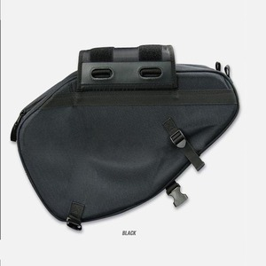 Image 2 - プロモーション契約オートバイサドルバッグサドル荷物スーツケースバイクリアシートバッグサドルバッグ防水カバー SA212