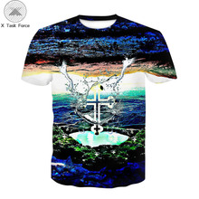 Jesus T Shirt boy Character Tshirt The cross 3d Print T-shirt Hip-hop Tee Cool boy Clothing 2018 New Summer Casual Hipster Tops cross t shirt religious religion swag jesus god christian faith bnwt gothicfree shipping tops t shirt
