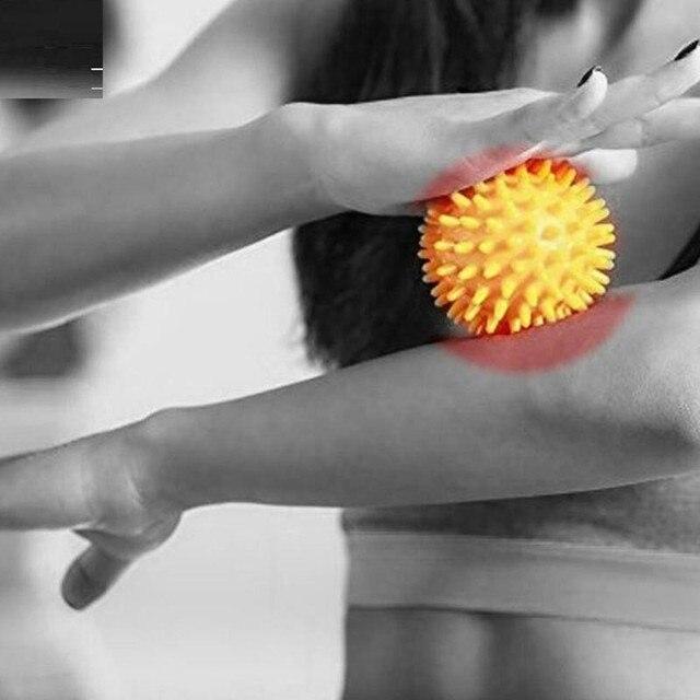 Купить массажный мяч для фитнеса расслабляющий спины массажный ног картинки цена