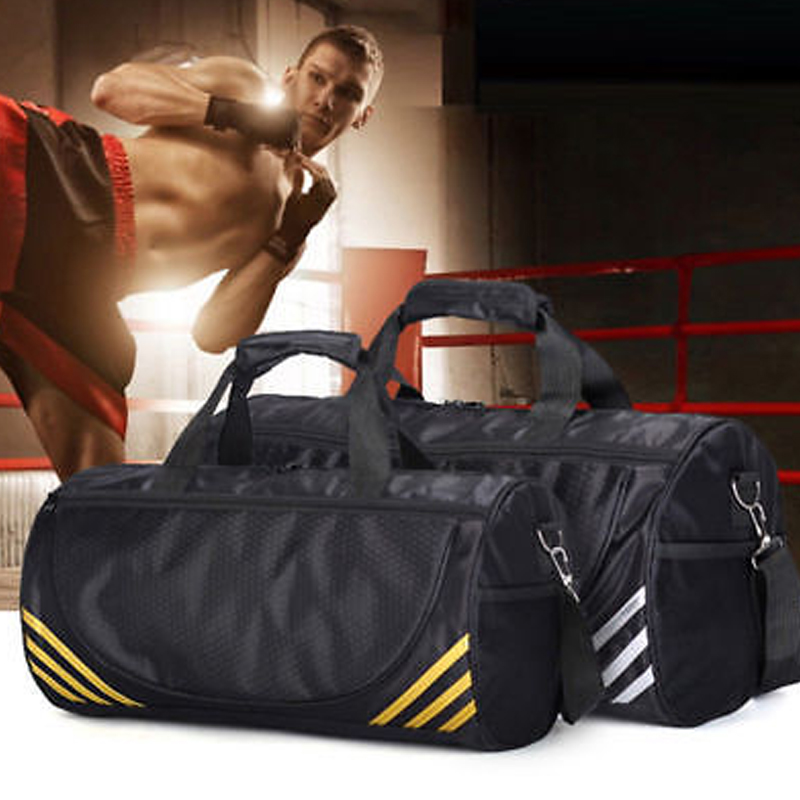 Tote Sports Bag Yoga Bag Handbag Gym Nylon Solid Duffle Women Travel Bag Men Outdoor Unisex Business Sports Bag