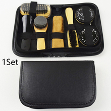 Father's Day Shoe Polish Kit Brushes Household Sponge With Case Sneakers Portable Cleaning Tool Birthday Care Cloth Travel