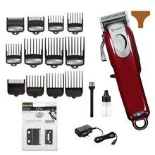 Профессиональная Парикмахерская Машинка для стрижки волос Мужская электрическая машина для резки волос Стрижка волос триммер для волос Совместимость с wahl magic clip blade