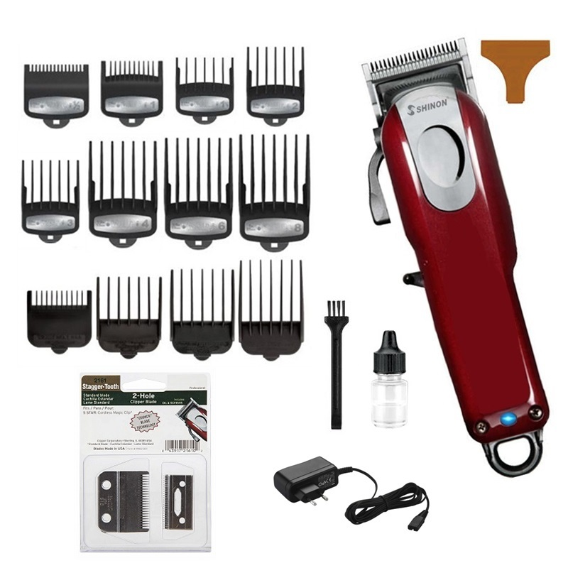 barber professional hair clipper man electric hair cutting machine haircut hair trimmer compatible for wahl pro guide combs