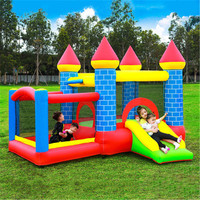 Indoor Outdoor Kids Playground Infantil Slide Inflatable Castle Jumping Bouncy Trampoline Amusement Park Soft Play Equipment