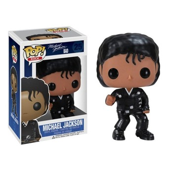 FUNKO POP Michael Jackson Beat It Action Figure Toys 10CM PVC Collectable Model for Kids Chritsmas Birthday Gifts 6