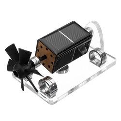 Solar Horizontale Vier-side Magnetische Levitatie Mendocino Motor Stirlingmotor Onderwijs Model