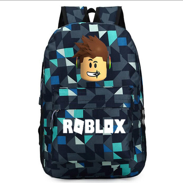 ROBLOX Backpack For Teenagers Kids Boys Children Student School Bags Unisex Laptop backpacks Travel Shoulder Bag