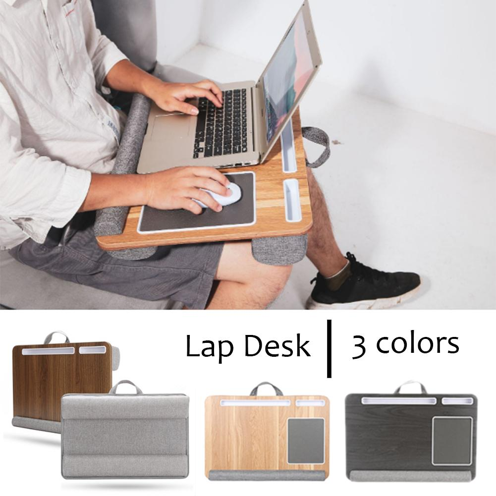 Multi-functional Lap Laptop Desk Portable Bed Lap Desk Tray PC Table Stand Notebook Table Stand With Tablet Pen & Phone Holder