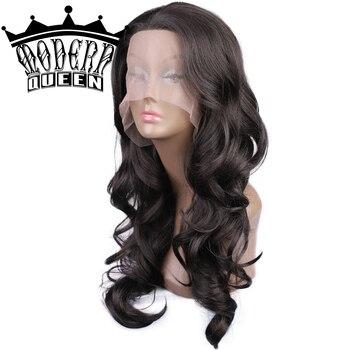 Парик из 360 синтетических волос на сетке спереди для чернокожих женщин