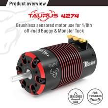 Rocket 4268 4274 V2 2700KV 2350KV 2000KV 1850KV 1550KV 2200KV 1950KV Sensored Brushless Motor for 1/8 RC On-road Off-road Car