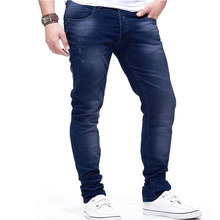 2019 New Cotton Jeans Men's High Quality Brand-name Denim Trousers Soft Men's Slim Pants Autumn And Winter Fashion Jeans