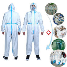 2020 HOT Reusable Coverall Security Clothing Dust-proof Clothing Isolation Clothes Labour Suit One-pieces Nonwovens anti-virus