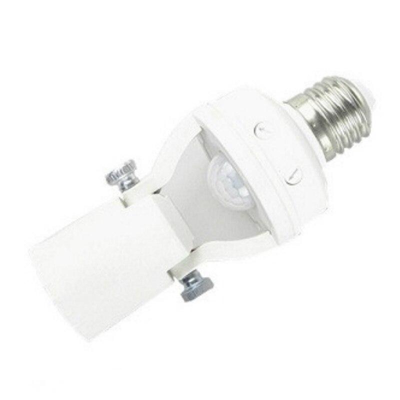 ABUI-E27 Led Lamp Base Holder Pir Motion Sensor /Radar Microwave Sensor Light Control Switch 110V - 240V Pir-Kt