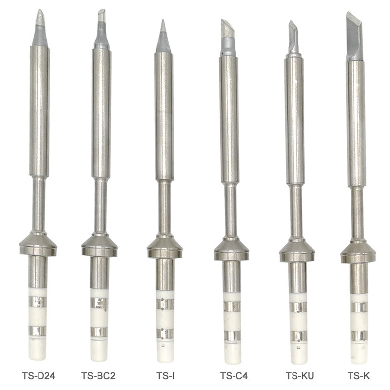 Mini Digital TS100 Soldering Iron Tips Lead Free Replacement Various Models of Tip Electric Solderin